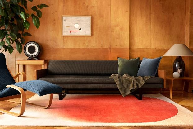 Child Stdio. Floor Story. Alfombras de colores homenaje a las mujeres de la Bauhaus