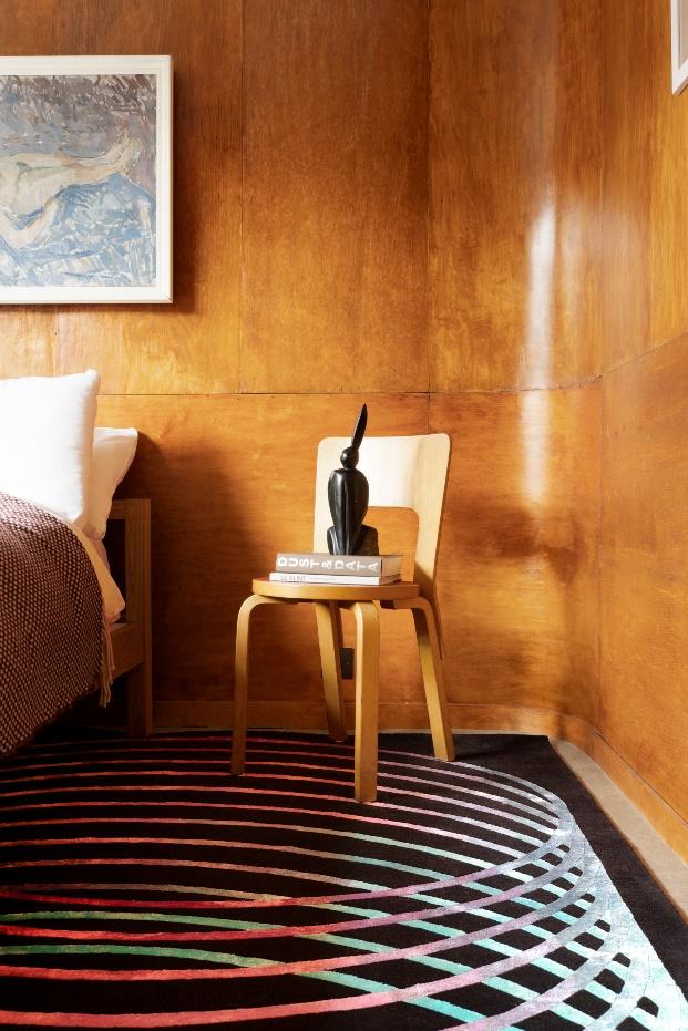 Colección de alfombras 19-19 de Child Studio para Floor_Story inspirada en la Bauhaus.