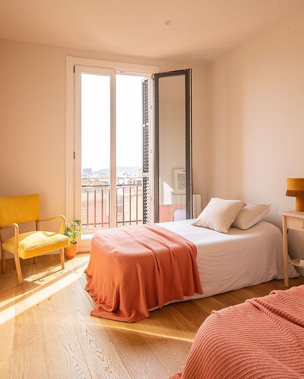 La luz del mediterráneo baña las habitaciones que cuentan con vistas al mar
