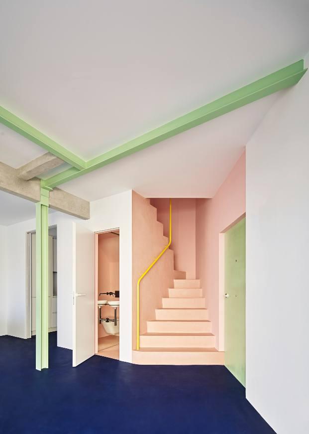 Casa Witiza proyectada por Beatriz Alés Atelier en Carabanchel