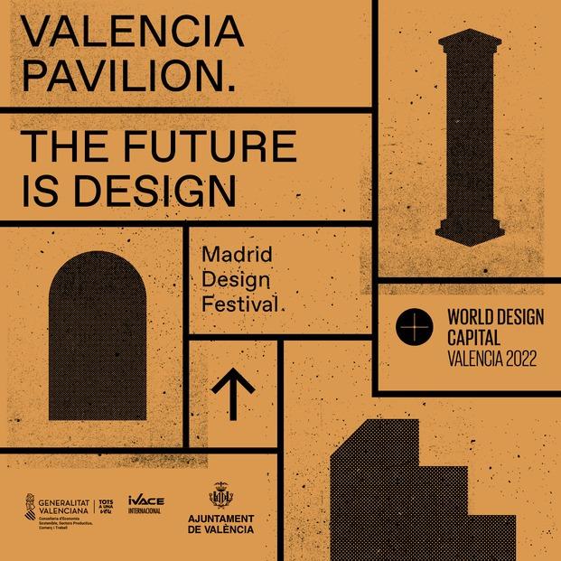 Exposición Valencia Pavilion. The Future is Design en Madrid Design Festival 2021