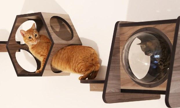 Muebles para gatos Kityful.