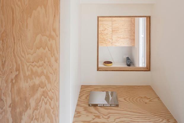 Michelet. Mini vivienda de 50 m2 en París. Diseñada por Nomadic Architecture Studio