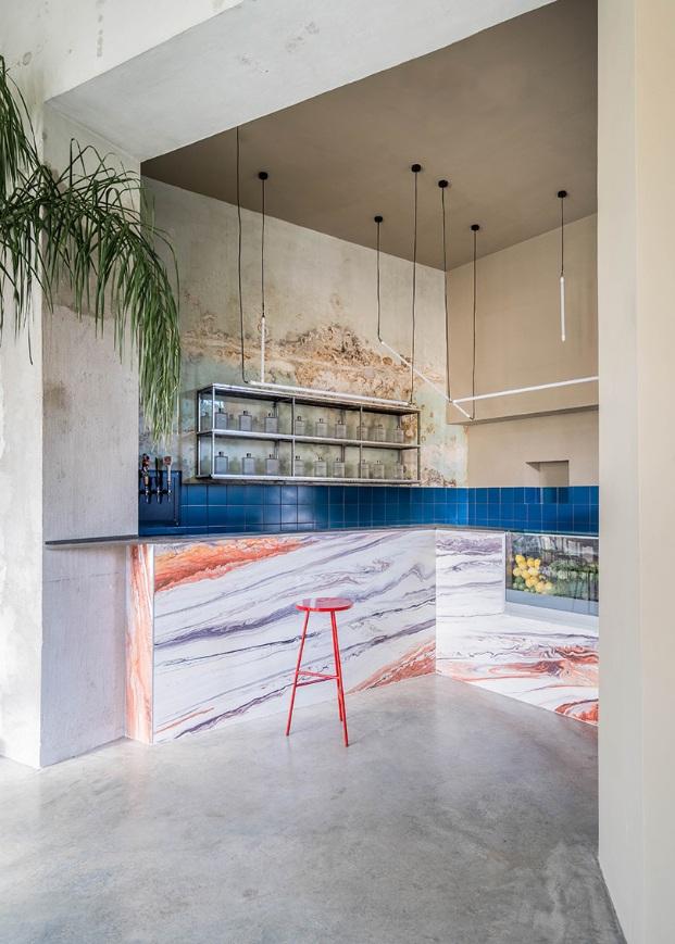 Restaurante Tre de Tutto en Roma de Studio Tamat