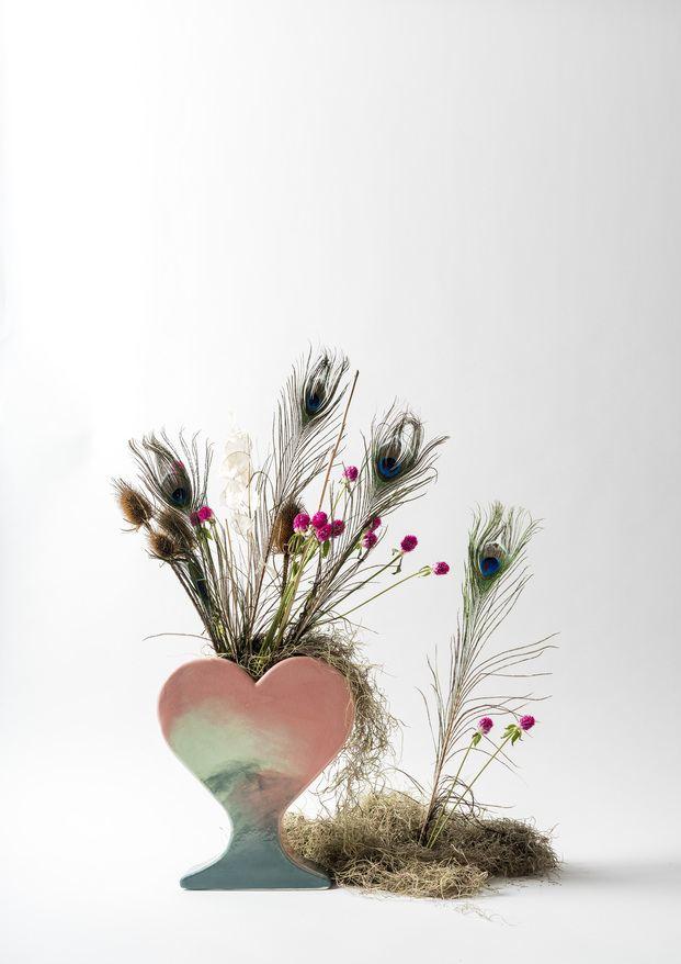 SPRING con flores, Rosa Cortiella  Foto ©Eugeni Aguilo