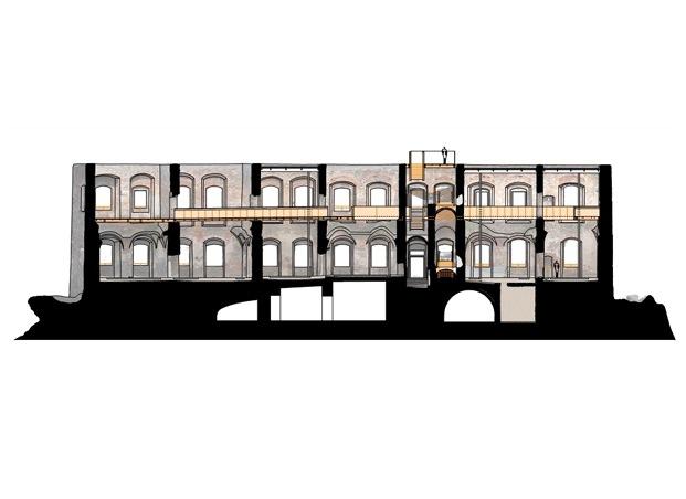 Rehabilitación del castillo Helfštýn en la República Checa por el estudio arquitectónico atelier-r