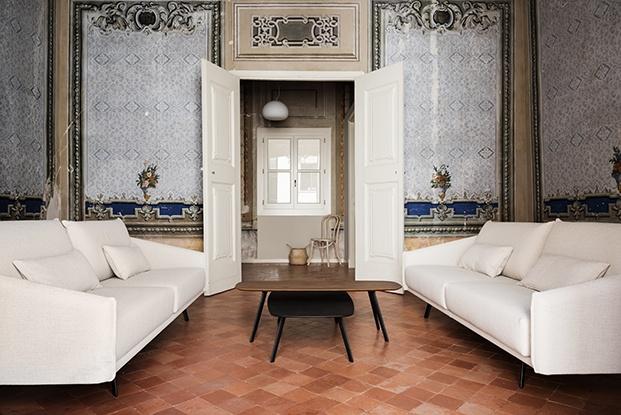 Casa Clascar. Palacio en Vilafranca reformado por Esteve Interiorisme y amueblado con piezas de diseño contemporáneo de Stua