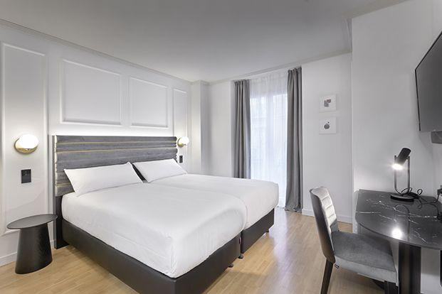 La flexibilidad protagoniza el diseño de los muebles de las habitaciones que son polivalentes y de doble función