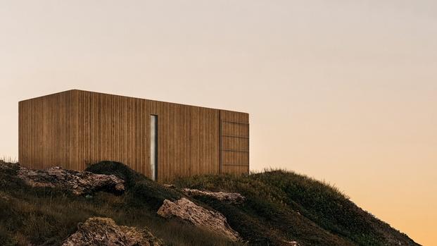 Onarc. Casas prefabricadas. Liten, cabaña sostenible para turismo rural o anexo a vivienda preexistente