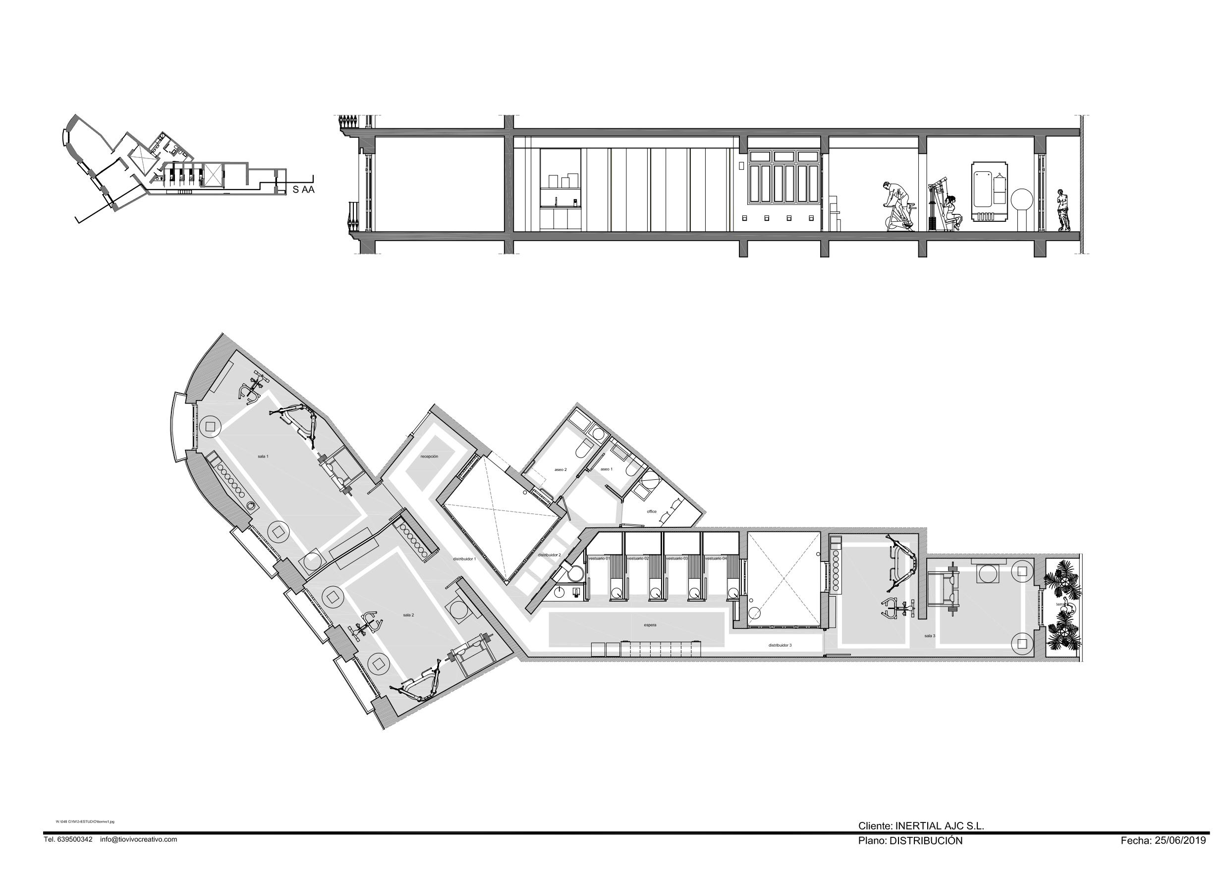 Gimnasio Inertial en Valencia de estudio Tiovivo
