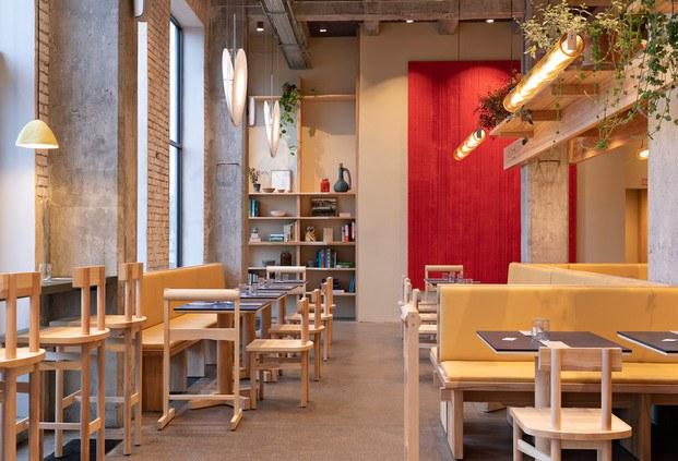 hamburguesería POPL en Copenhague, de Spacon & X