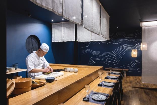 Restaurante japonés Asagumo de deardesign studio en Barcelona
