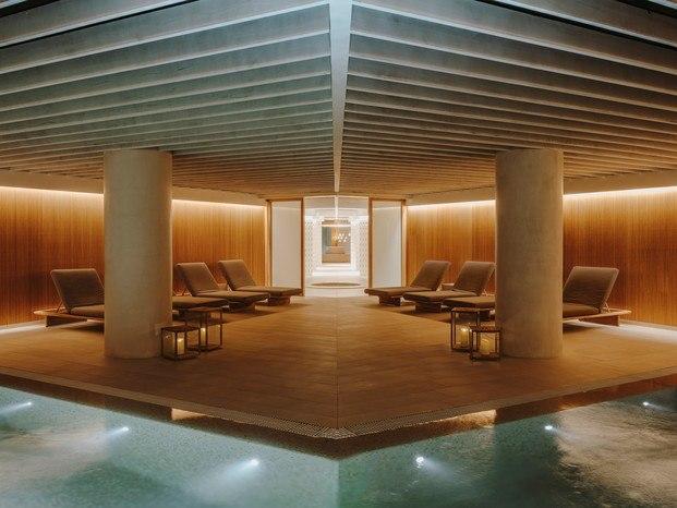 Salines Spa en Cala Esmeralda. Isabel López-Vilalta. La mejor arquitectura, interiorismo y diseño de las Islas Baleares