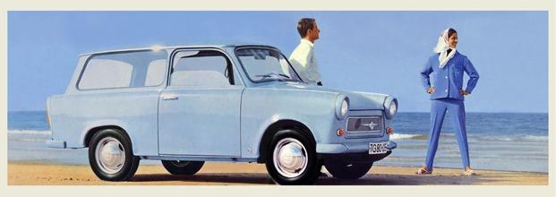 Anuncio Trabant 601 Universal, 1965