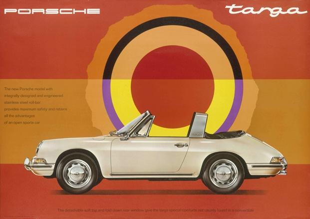 Anuncio del Porsche 911 Targa, 1967