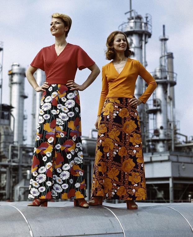 Moda femenina de la RDA, VEB Textilkombinat Cottbus, 1978