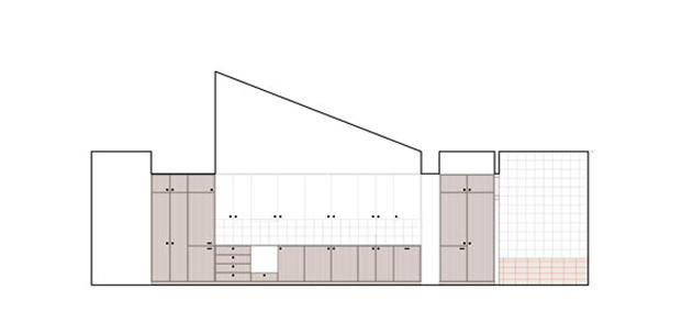 Planos de la casa de El Cabanyal en Valencia
