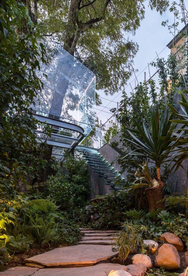 Chantli Kuaulakoyokan Crystal Treehouse, de Broissin Architects