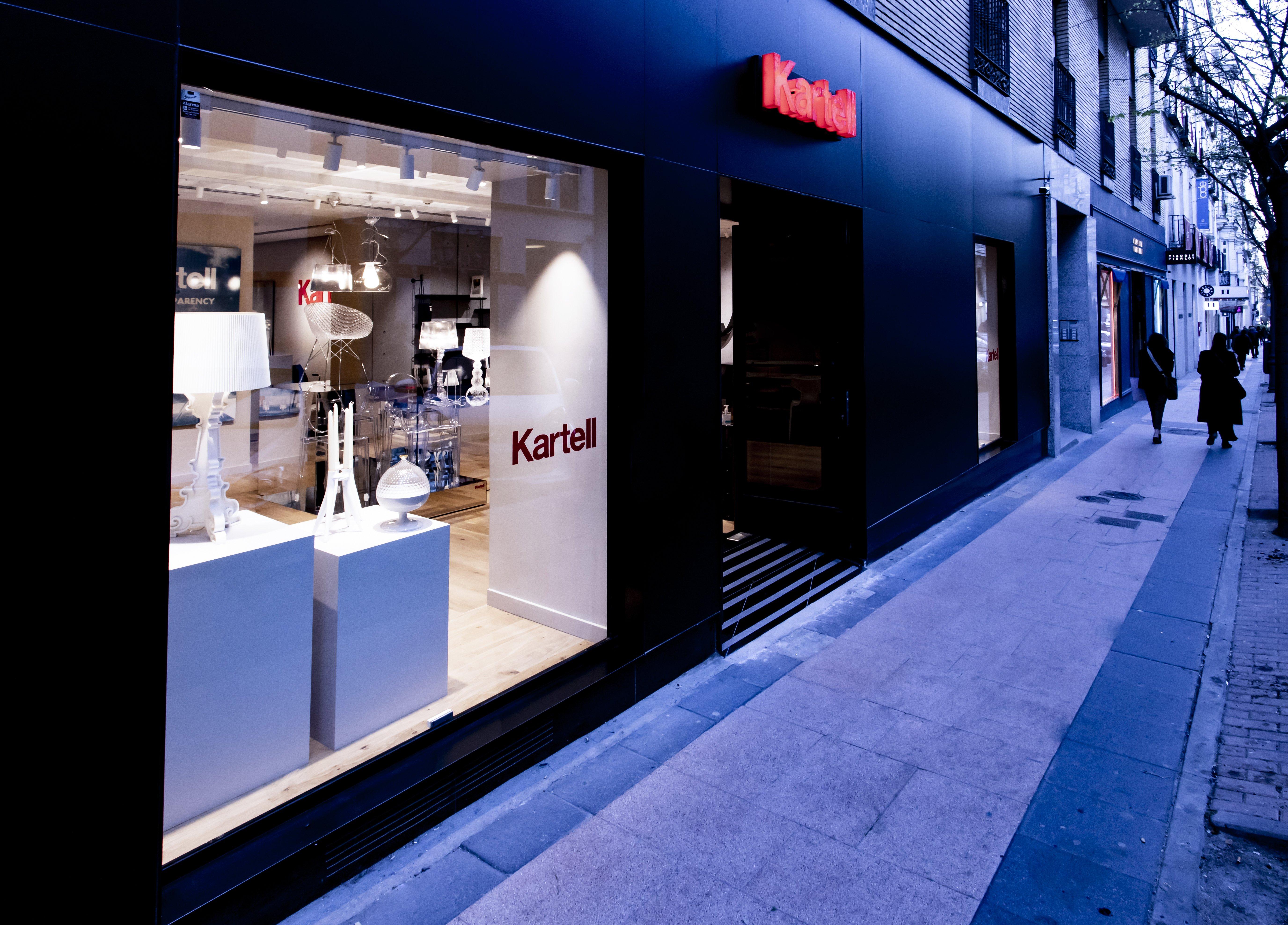 Nueva tienda Kartell en Madrid