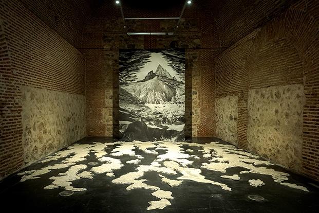 Exposición El crimen perfecto (F. Vanneraud). MadBlue 2021