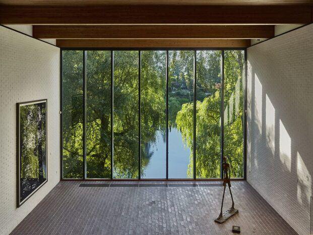 Museo de Arte Moderno de Louisiana en Humlebæk. Dinamarca