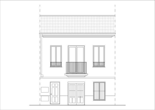 La Caseta Blava de El Cabanyal  se rehabilita como vivienda de alquiler asequible. FGR Arquitects