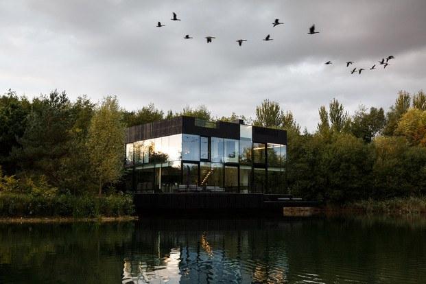 Glass Villa, de Mecanoo