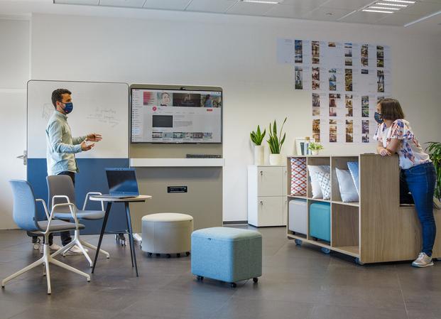 Colección Agile de ACTIU. Oficinas flexibles