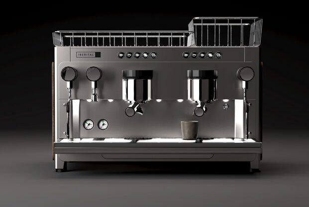 la máquina de café Tandem de Iberital, diseñada por ACID (el estudio de Andreu Carulla)