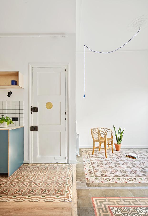 Reforma de un apartamento de 60 m2 en Barcelona. Estudio CO-A