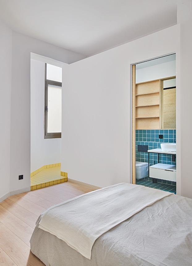 Reforma de un apartamento de 60 m2 en Barcelona. Estudio CO-A.