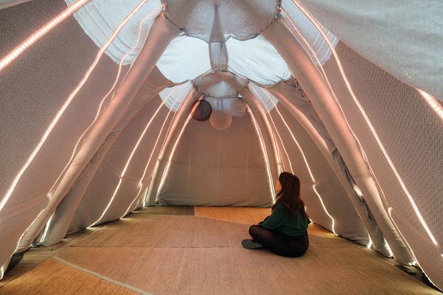 D.Lights espacio Simon en Casa Decor 2021. MuDD Architectes
