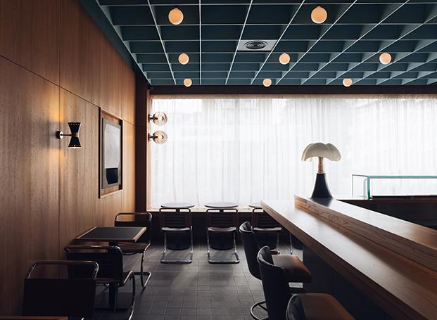 Restaurante japonés Maido en el barrio St John's Wood de Londres. Child Studio