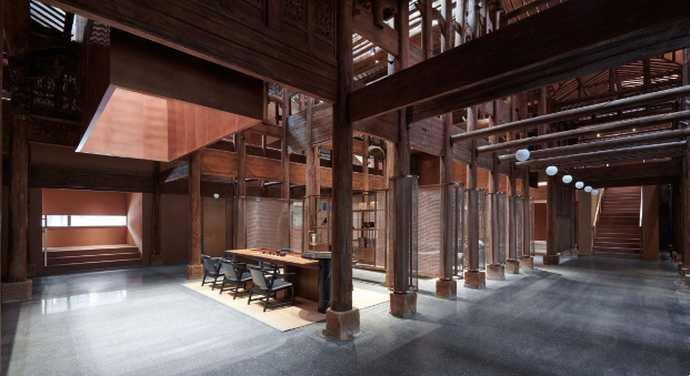 The Relic Shelter en Fuzhou de Neri&Hu