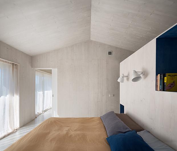 Casa pasiva en Girona proyectada por Daniel Tigges y Micheel Wassouf con certificado Passivhaus