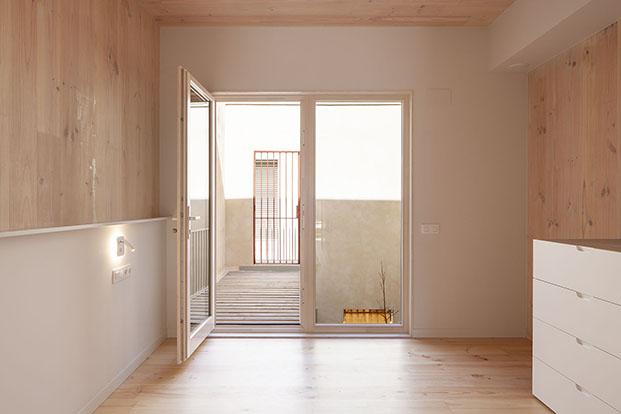 Casa biopasiva Ssabadell. House Habitat. Blauhaus. Arquitectura sostenible y energéticamente eficiente