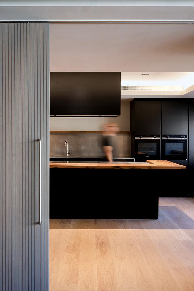 La nueva sede del consulado general de Italia en Barcelona incluye una cocina para hacer showcookings