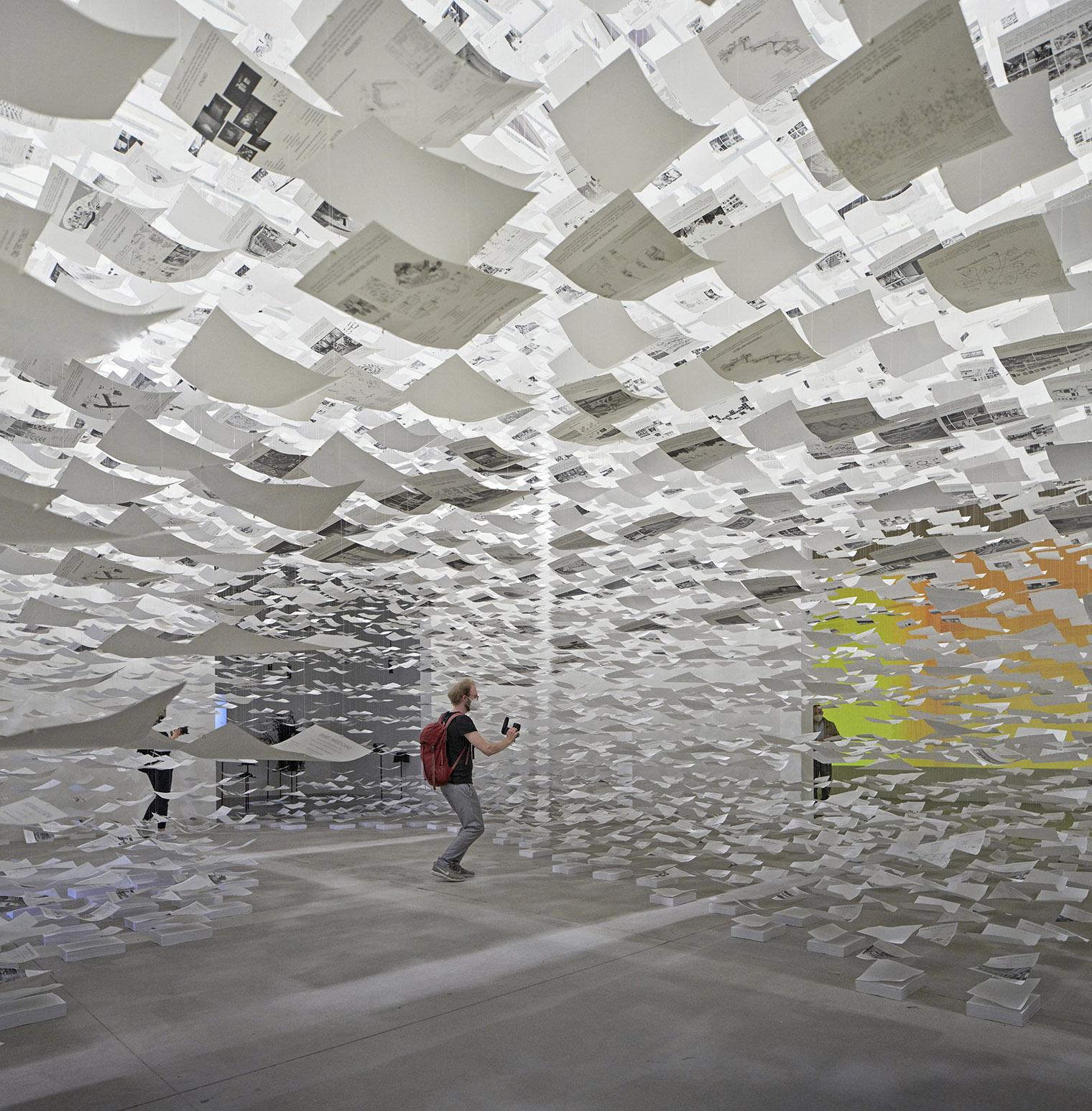 La incertidumbre de la arquitectura en el Pabellón de España en la Bienal de Venecia. Uncertainty. Sofía Piñero, Domingo J. González, Andrzej Gwizdala y Fernando Herrera