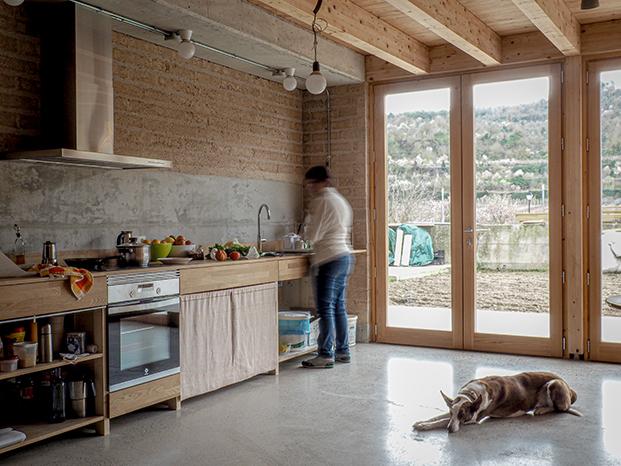 Vivienda colectiva senior Arqbag Guimerà cocina diariodesign