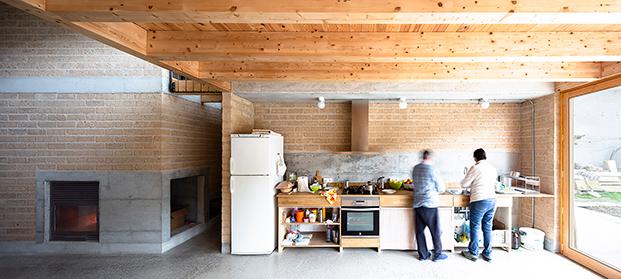 Vivienda colectiva senior Guimera cocina diariodesign