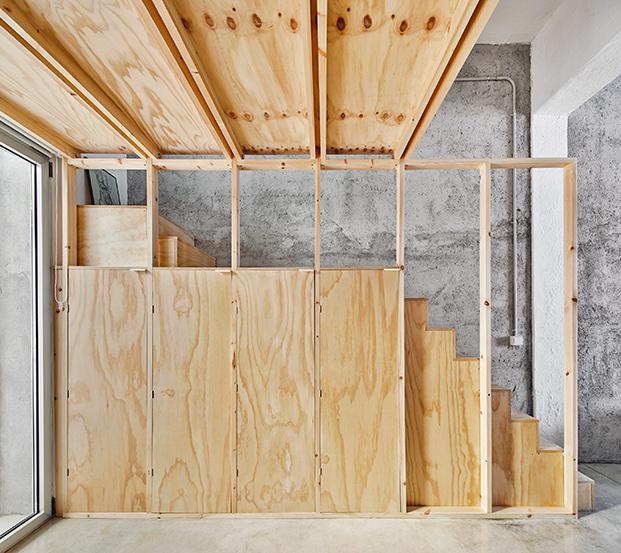 casa burr madera diariodesign