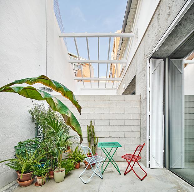 casa burr patio diariodesign
