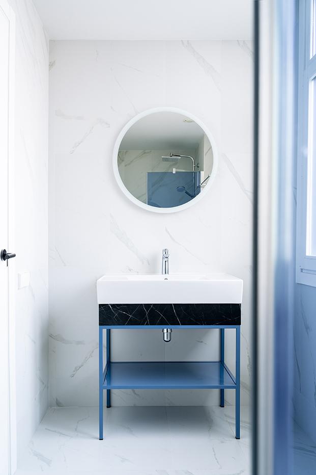 hotel bienvenir madrid baño habitación diariodesign