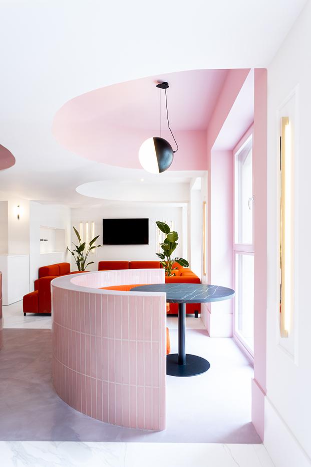 hotel bienvenir madrid colores diariodesign