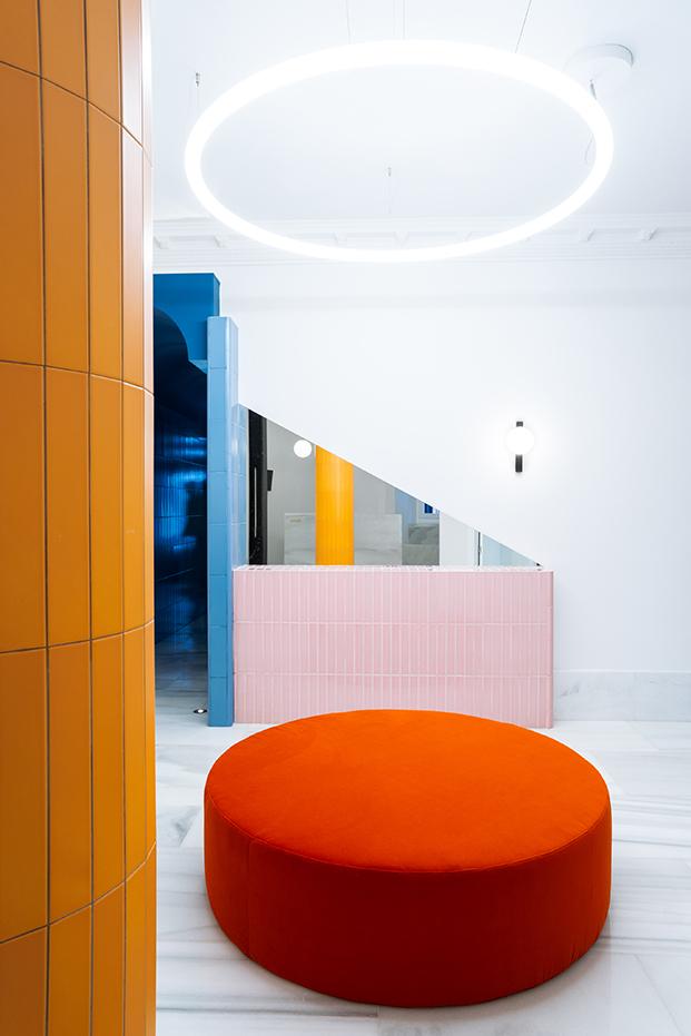 hotel bienvenir madrid diseño recepción diariodesign