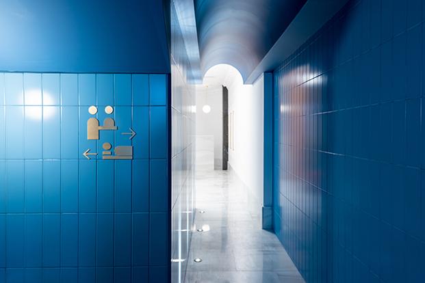 hotel bienvenir madrid entrada diariodesign
