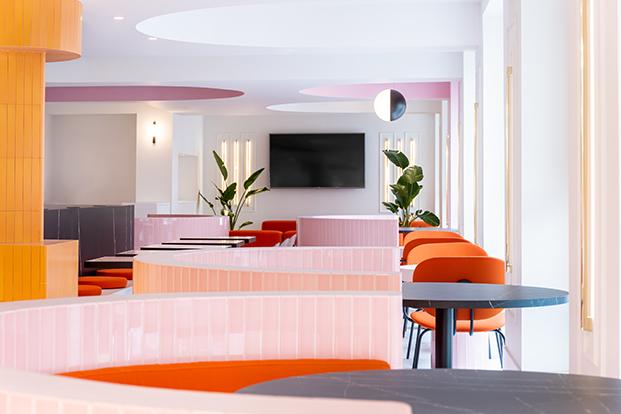 hotel bienvenir madrid mesas diariodesign