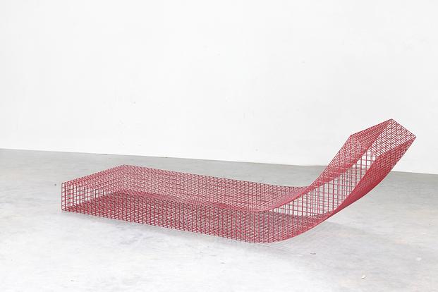 Tumbona Serie Wire S, la conceptual. Muller van Severen