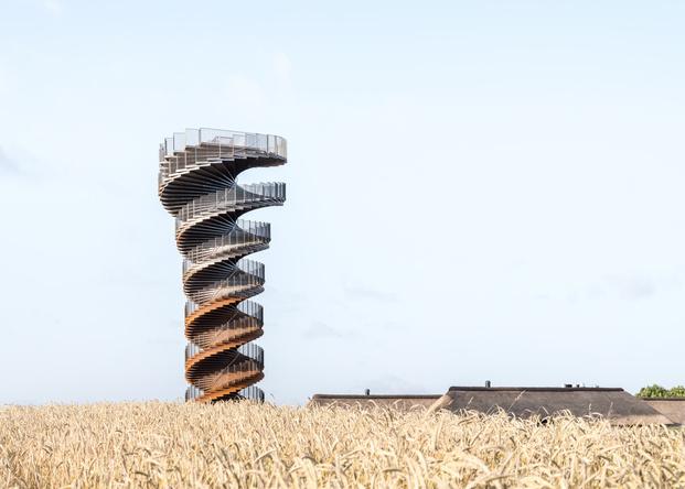 Nueva torre MARSK TOWER en Dinamarca de BIG Bjarke Ingels. Wadden Sea National Park