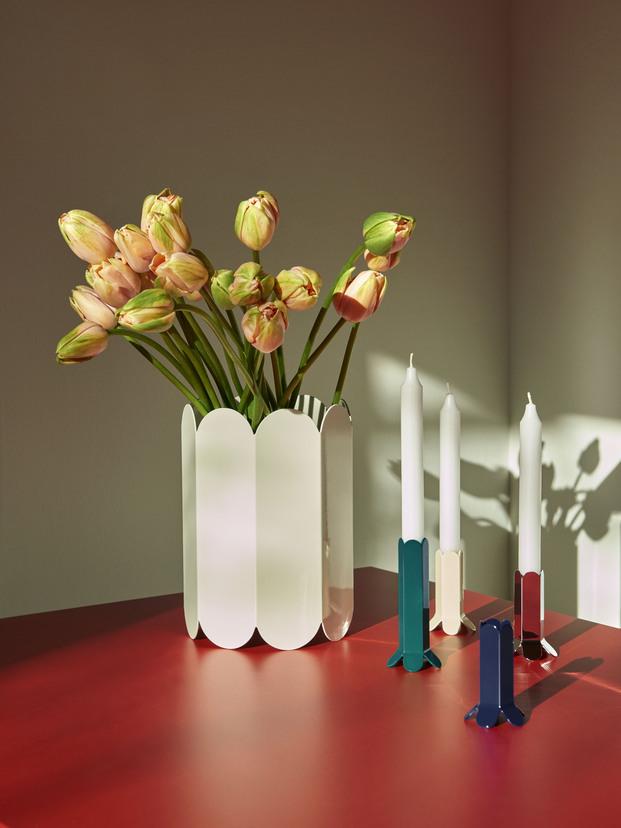 Muller Van Severen x Hay. Colección lámparas, mesas, jarrones y candelabros